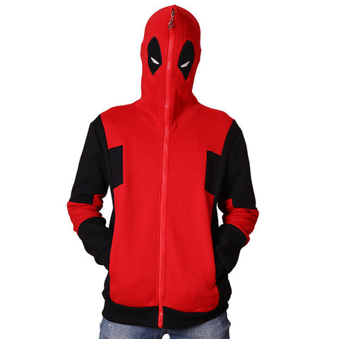 Unisex Deadpool Cosplay Hooded Sweatshirt