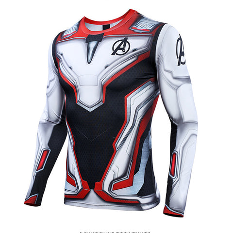 Avengers 4 Endgame Quick Drying T-shirt Quantum Realm Costumes