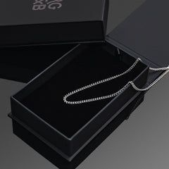 Minimal Cuban Chain - Solid 925 Sterling Silver