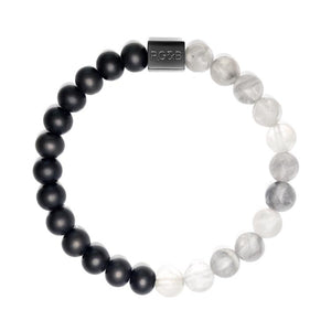 Black Collection - Cloud Crystal Bead Bracele