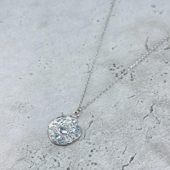 Cancer Star Sign Necklace - Fine chain necklace featuring a delicate star sign pendant. Birth date June 21 - July 22 is for Cancer. Available in Silver, Gold, and Rose Gold.
