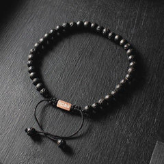 Minimal Collection - Lava Stone Bead Bracelet