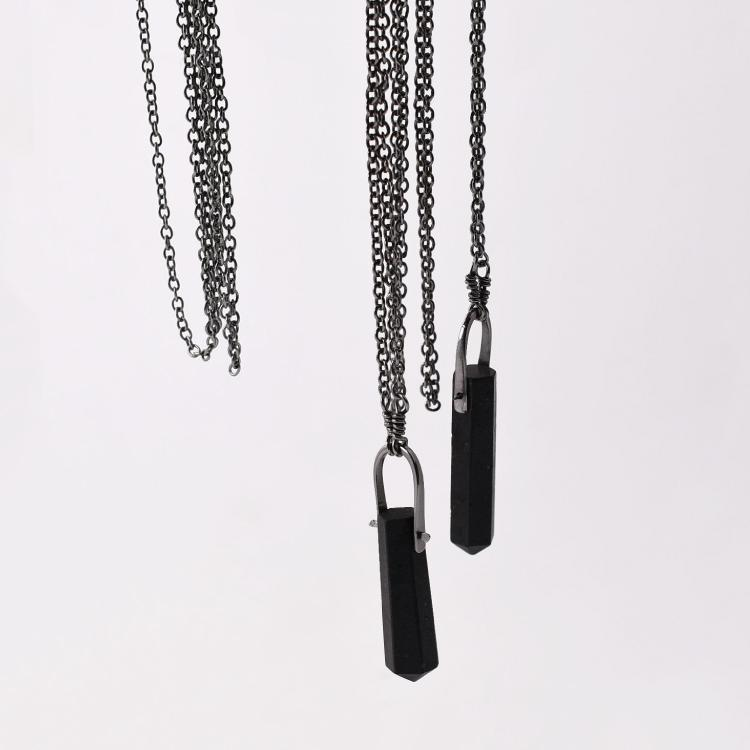 Talisman Necklace - Black Tourmaline Crystal