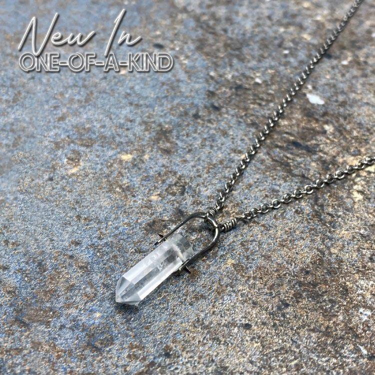 Talisman Necklace - Quartz Crystal Teaching Men's Fashion