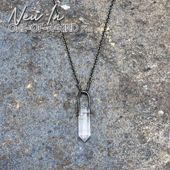 Talisman Necklace - Quartz Crystal