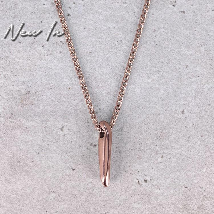Rose Gold Odyssey Necklace - Our Rose Gold Odyssey Necklace is available online today. Featuring Our Signature Odyssey Pendant & Rose Gold Cuban Link Chain.