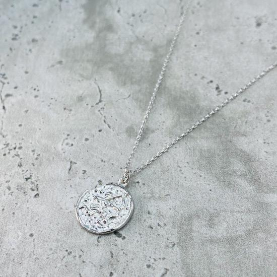 Sagittarius Star Sign Necklace - Fine chain necklace featuring a delicate star sign pendant. Birth date November 22 - December 21 is for Sagittarius. Available in Silver, Gold, and Rose Gold.