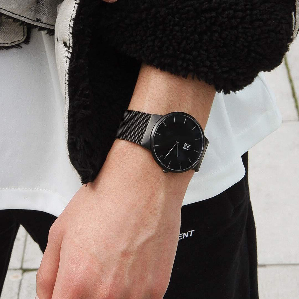 WATCHES V1 - Minimal All Black