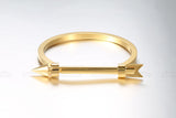 Arrow Bracelet Noeud armband Gold Plated Bangle