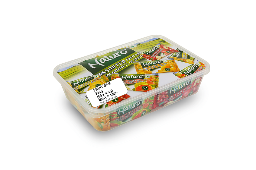Assorted Fruits Bar Lunch Box Set 225g