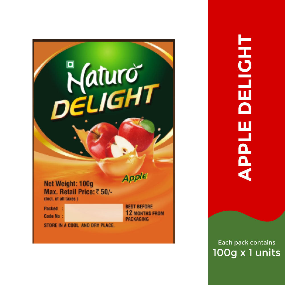 Naturo Apple Delight - 100g