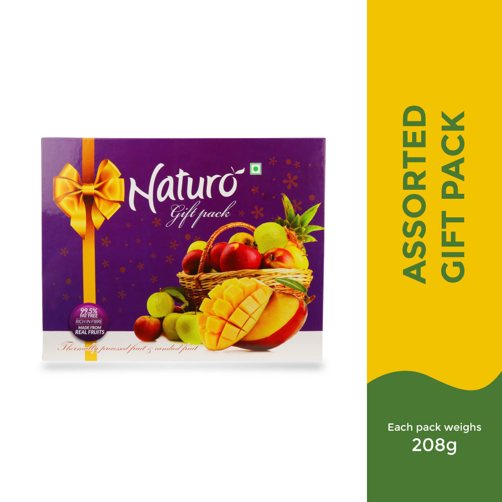 Naturo Assorted Gift Pack - 208g
