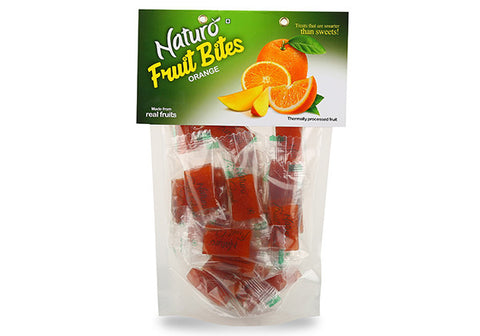 Orange Fruit Bites Stand Up Pouch - 180g