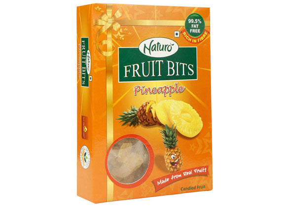 Fruit Bits- Pineapple Multipack 100g