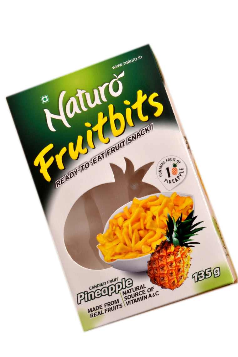 Naturo  Fruitbits  Pinapple- 135g