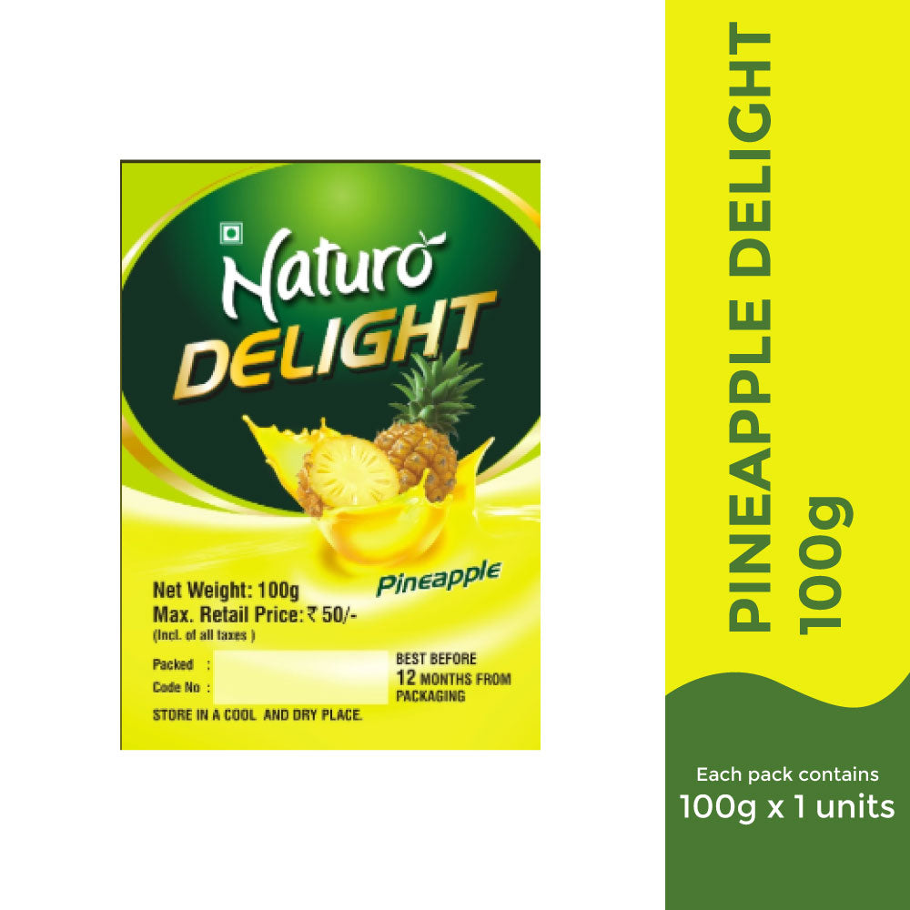 Naturo Pineapple Delight - 100g