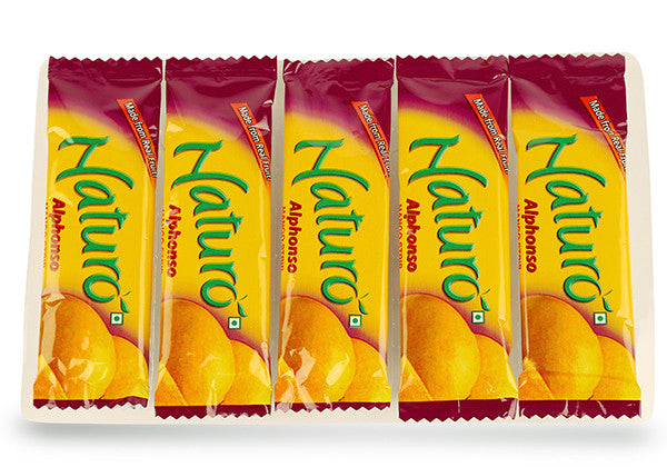 Naturo Alphonso Mango Fruit Bar Multipack - 90g