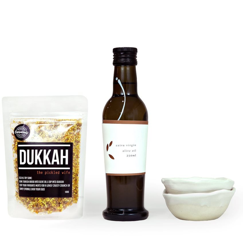 oil and dukkah