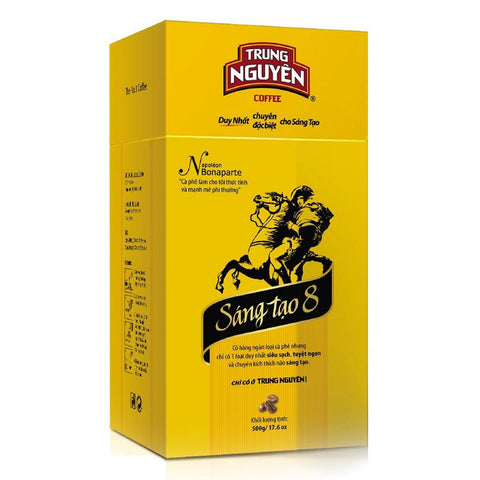 Trung Nguyen Legendee Gold Ground Coffee - Creative Sang Tao 8