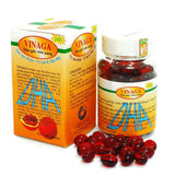 200 Capsules Vinaga Pure Gac Oil DHA - Momordica Cochinchinensis Oil - Famigifts