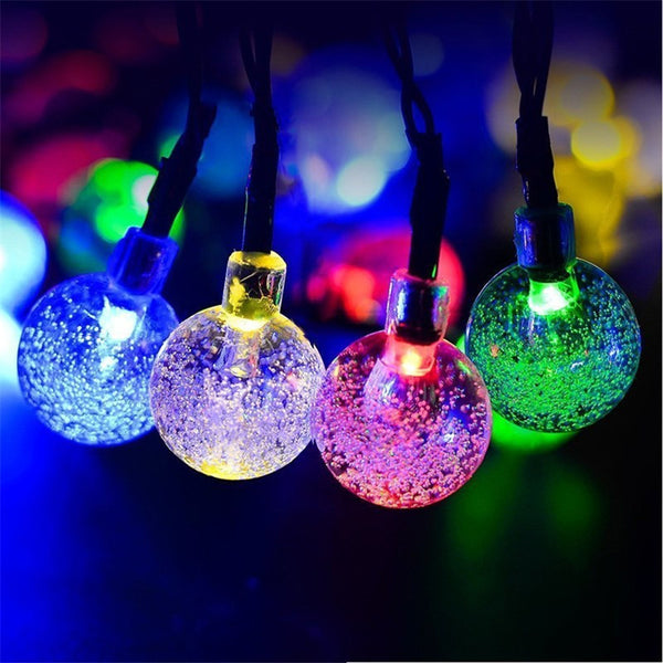 20-LED Crystal Balls
