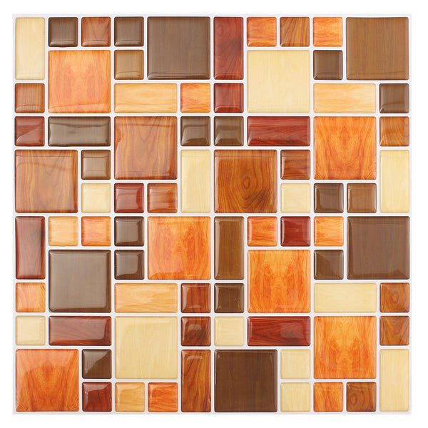Self-Adhesive Mosaic Tile Wall Sticker