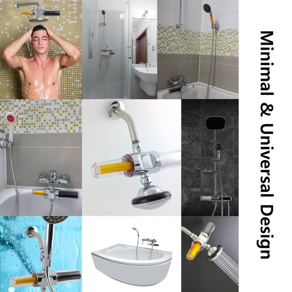 [SUF-300VIP] VitaPure Combo Inline Shower Filter with Vitamin C and Sediment Filters, Special Promotion