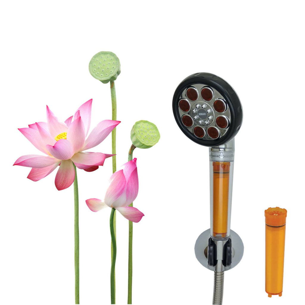 [SVS-117CR] Lotus Vitamin Showerhead Full Set