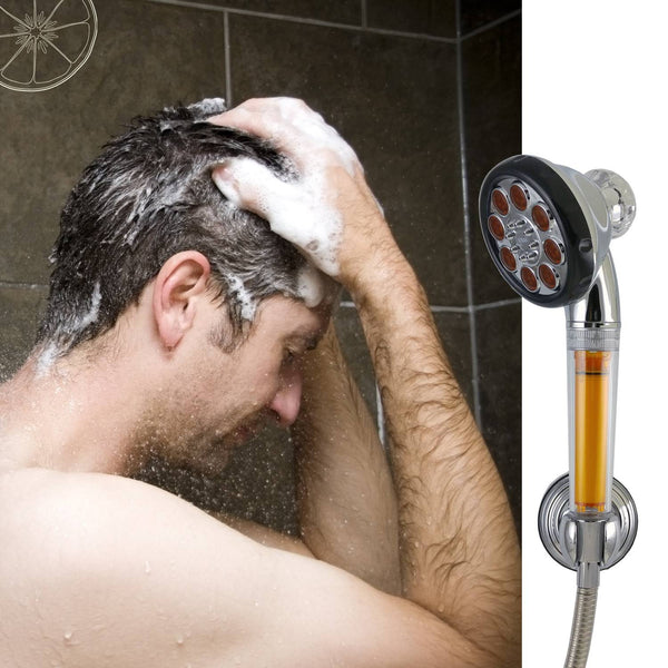 [SVS-118CR] Crystal Vitamin Showerhead Full Set