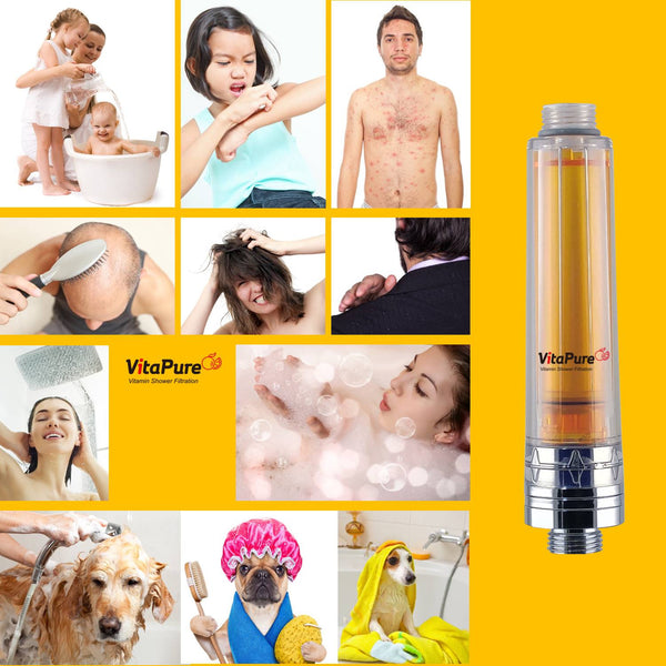 SUF-50V - VitaPure Vitamin C Inline Shower Filter