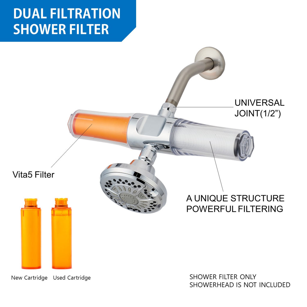 SUF-400VPX VitaPure Inline Water & Shower Filter