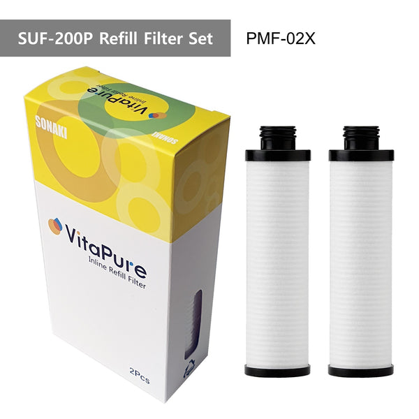 PMF-02X VitaPure Refill Cartridge for  PurMax Inline Shower Filter SUF-200P
