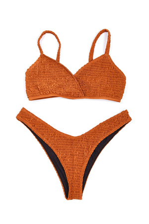 Cross Over Bikini - Copper Bottom - Sauce Swim