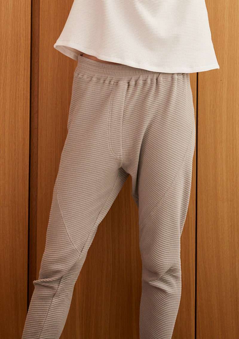 TIME AND AGAIN PANTS IN LIGHT GREY