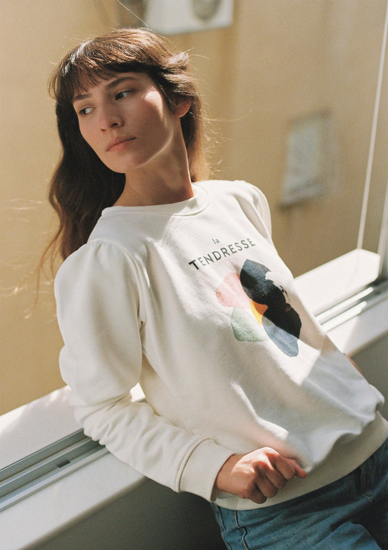 Field Sweatshirt in White