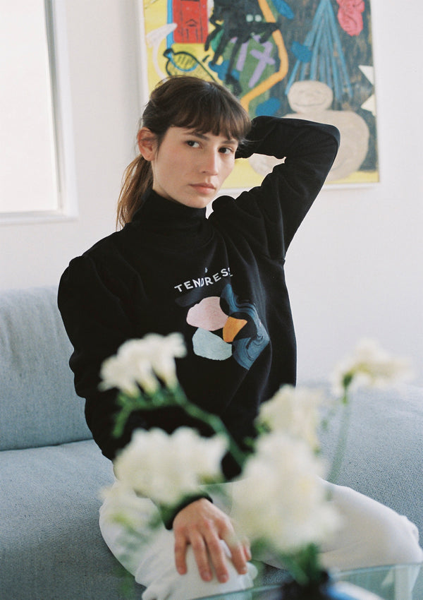 Field Sweatshirt in Black