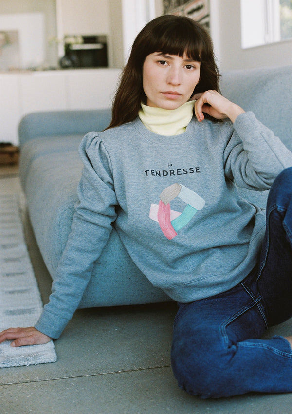 Branch Sweatshirt in Mélange