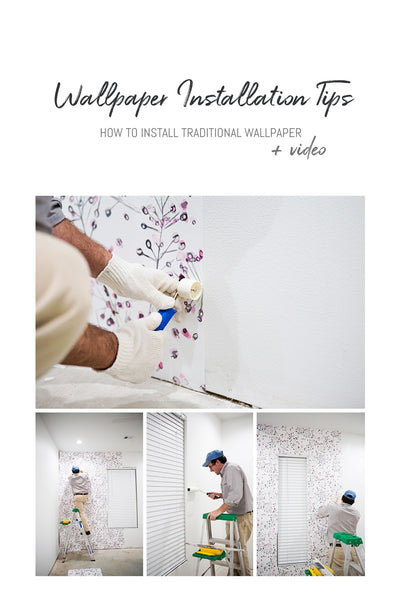 How To Install Traditional Non Woven Wallpaper Wallpaper 101 Livettes