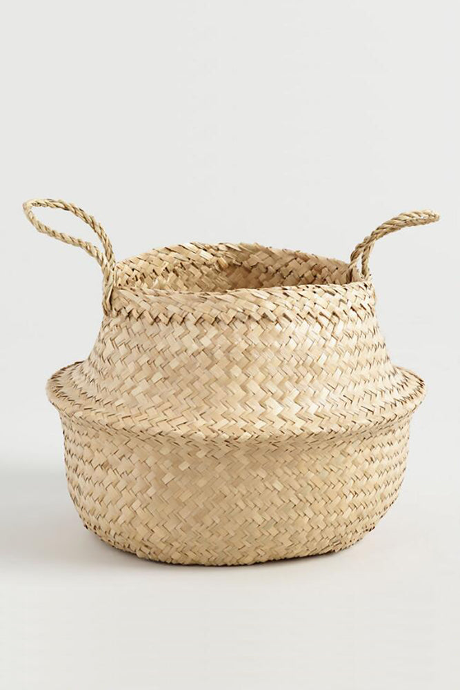 Scandi Boho multifunctional handwoven basket