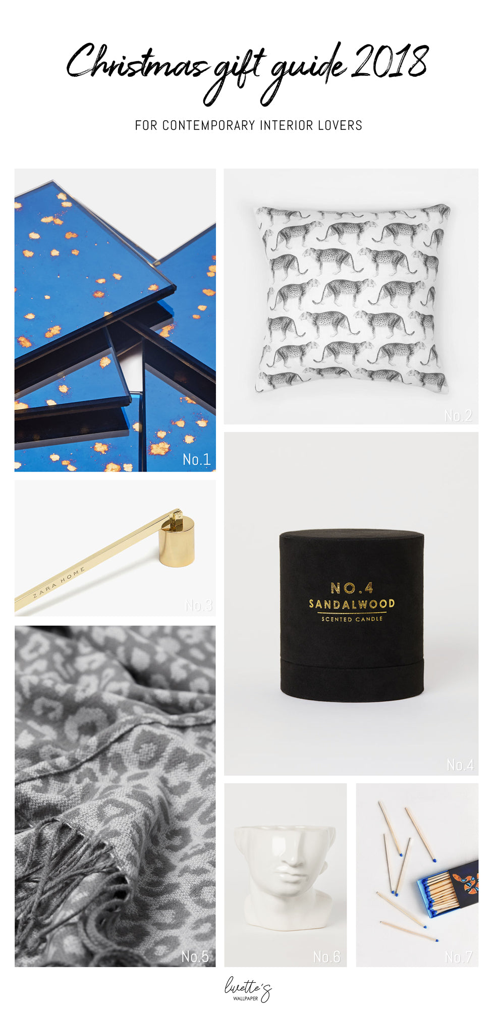 Christmas gift ideas for contemporary interior lovers