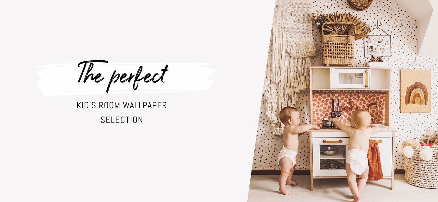 Kid's room removable wallpaper collection by Livette's Wallpaper