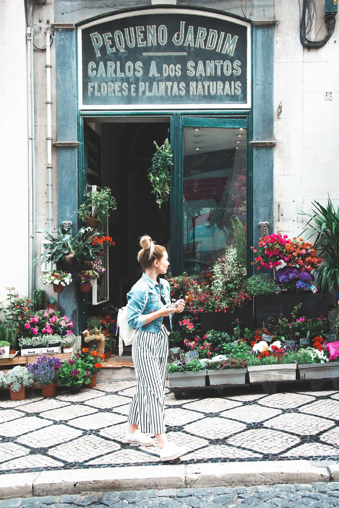 Lisbon travel tips, the oldest flower shop in Lisbon
