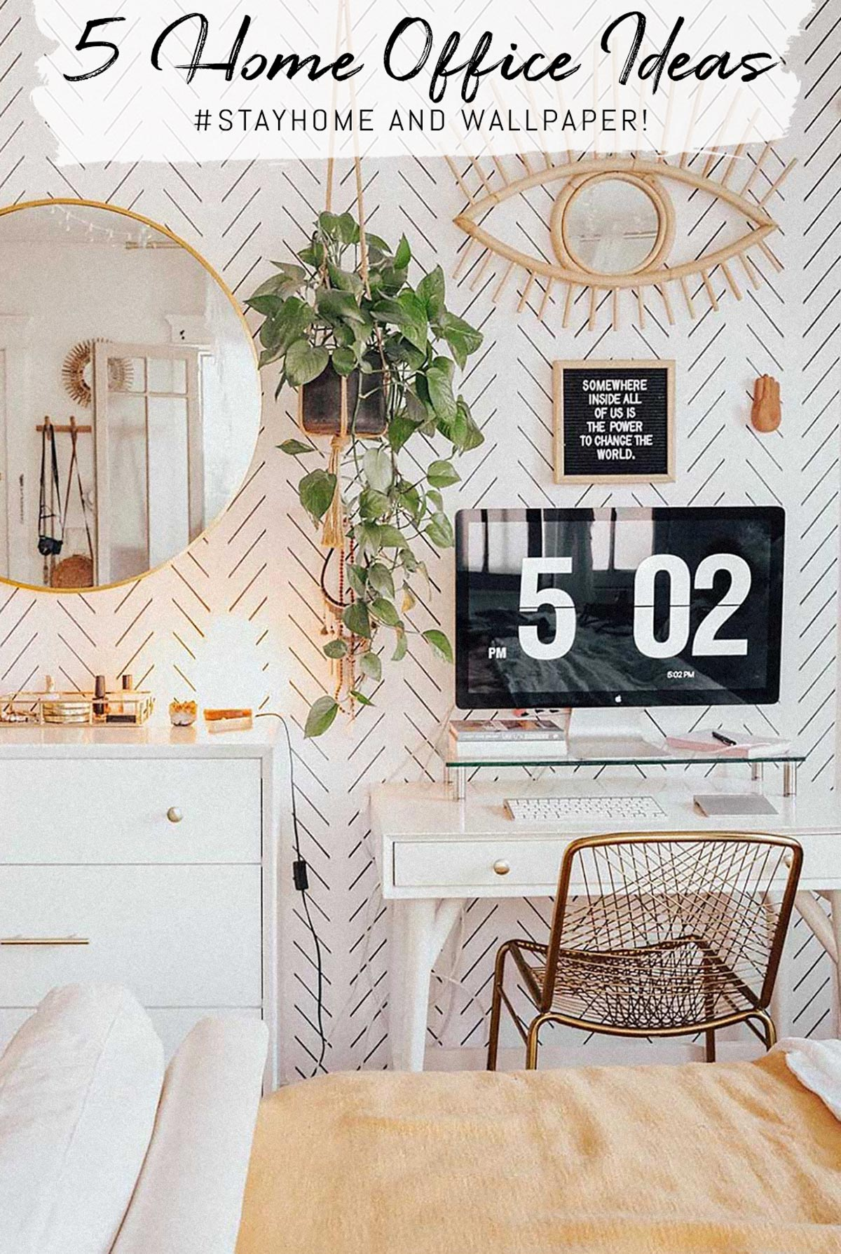 5 beautiful home office interior ideas
