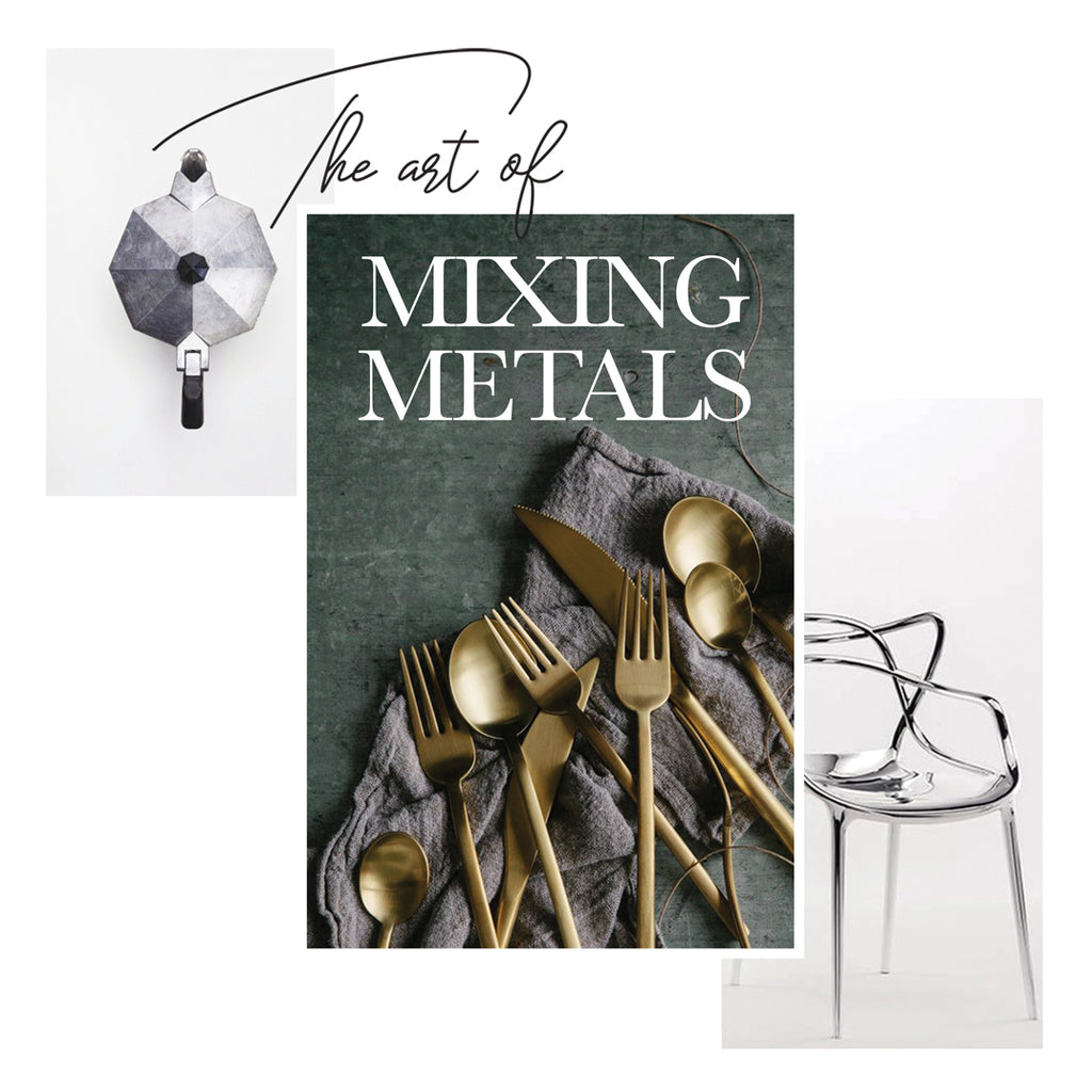 Mood board Monday - how to mix metals