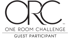 One room challenge 2019, guest participant, Livettes wallpaper.