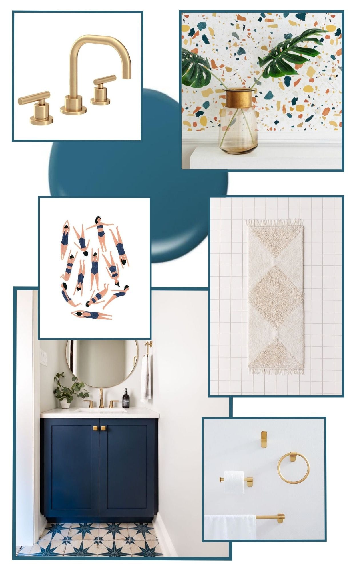 Interior project mood boards for inspiration