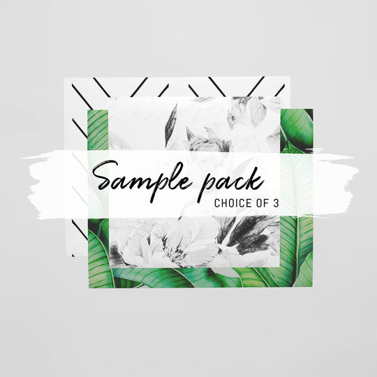 Sample Pack + Free FedEx shipping