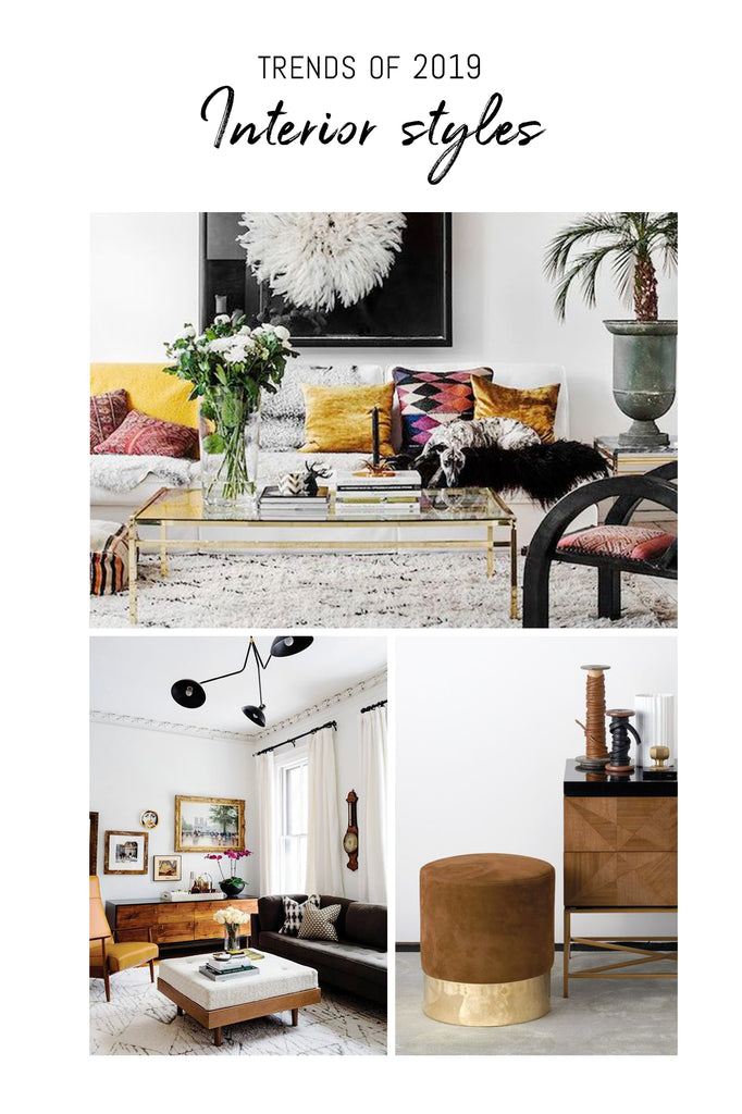 Interior trend predictions of 2019