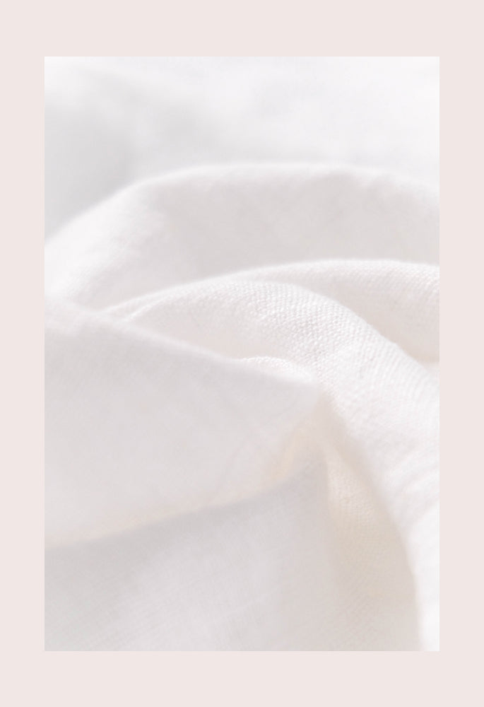 White washed linen texture