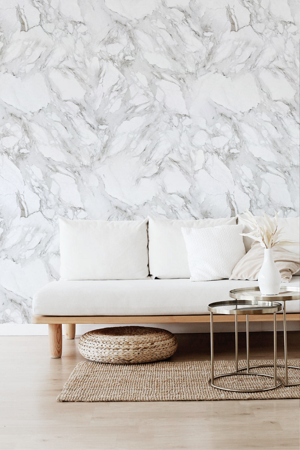The best marble look removable wallpaper for modern interior